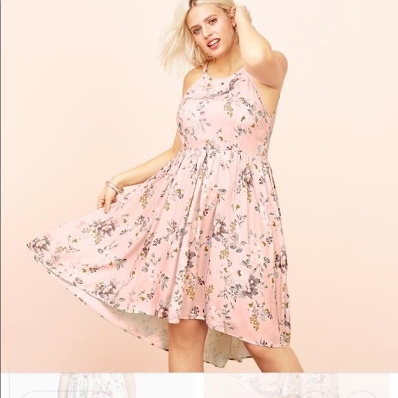 c8bdcc56 torrid Dresses | Pink Floral Dress High Low | Poshmark
